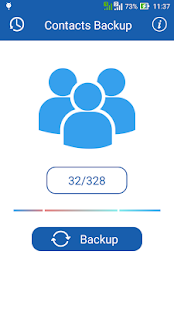 Smart Contacts Backup - (My Contacts Backup) - náhled
