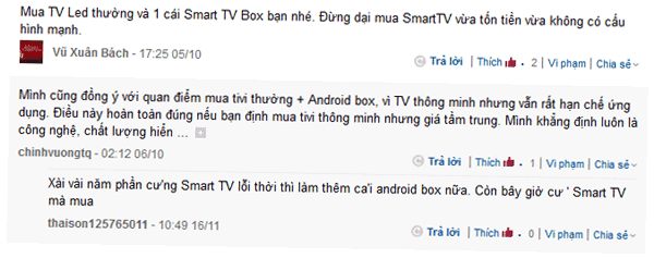 Android tv box vs smart tv
