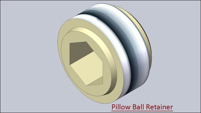 Pillow Ball Retainer