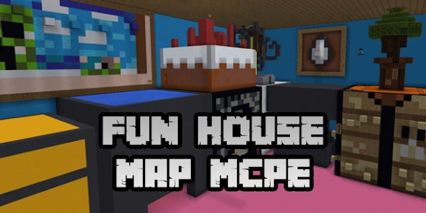 New Fun House Map for Minecraft PE - náhled