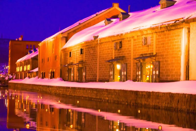 小樽運河 夜景 写真1