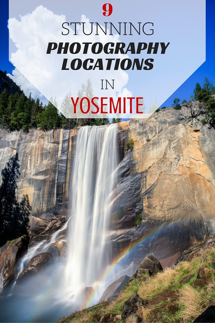 Some of the best spots in Yosemite for photography, including tips for where to get the best shots and some excellent viewpoints.