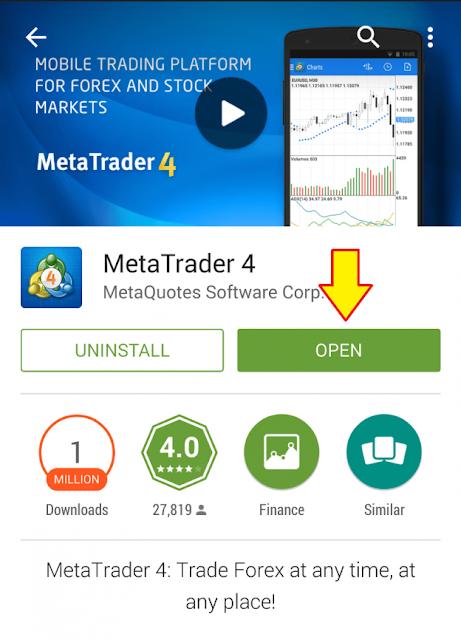 Aplikasi trading forex di android