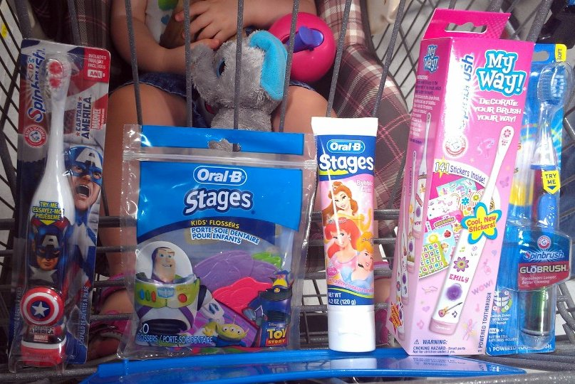 Our oral care donations #SpinbrushCFK