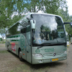 Mercedes van drenthe tours / FC Groningen Spelersbus