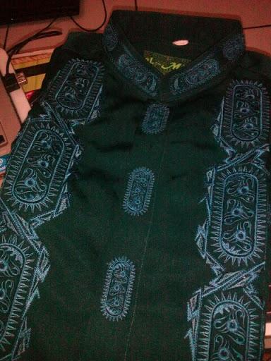 Baju Koko hadiah dari Ayah Tercinta