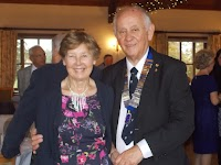 President Chris and Monica Penny - Charter Lunch October 2015