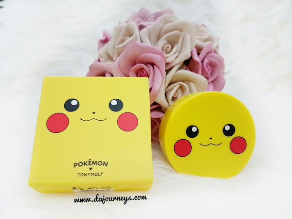 [Review] Tony Moly Pikachu Mini Cushion Blusher #02 Rose Coral