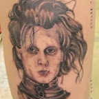 leg Edward Scissorhands - tattoo meanings