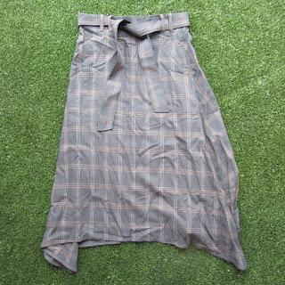 Scanlan Theodore Check Skirt