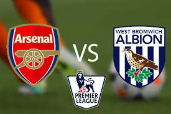 Arsenal vs West brom Premier League Match Highlights