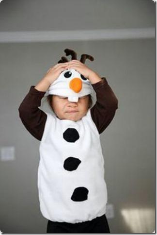 disfraz casero de Olaf de frozen (16)