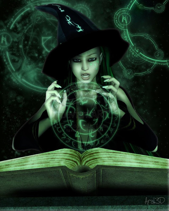 Wicked Jo Green Magic, Green Witches