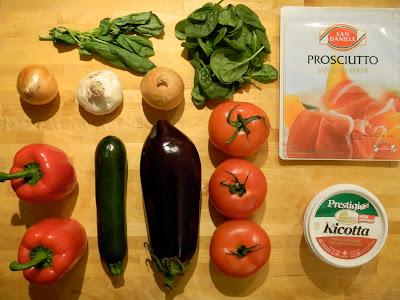 Lasagne aux légumes grillés [presque végée]