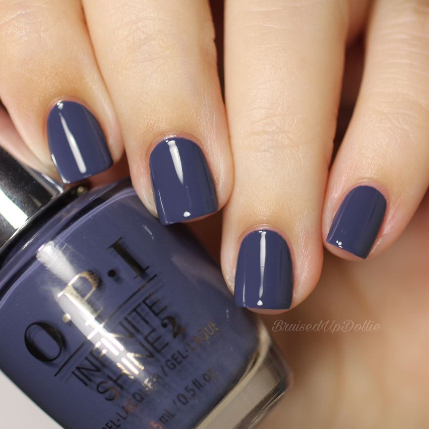 Opi Iceland Fall Winter 2017 Bruisedupdollie Nails
