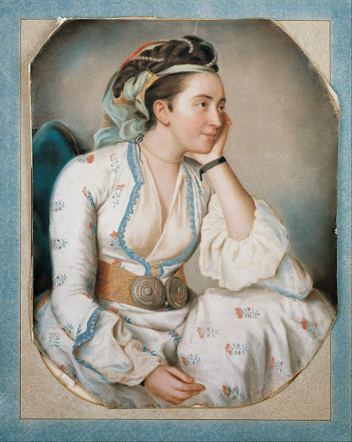 Jean-Étienne Liotard - A Woman in Turkish Dress