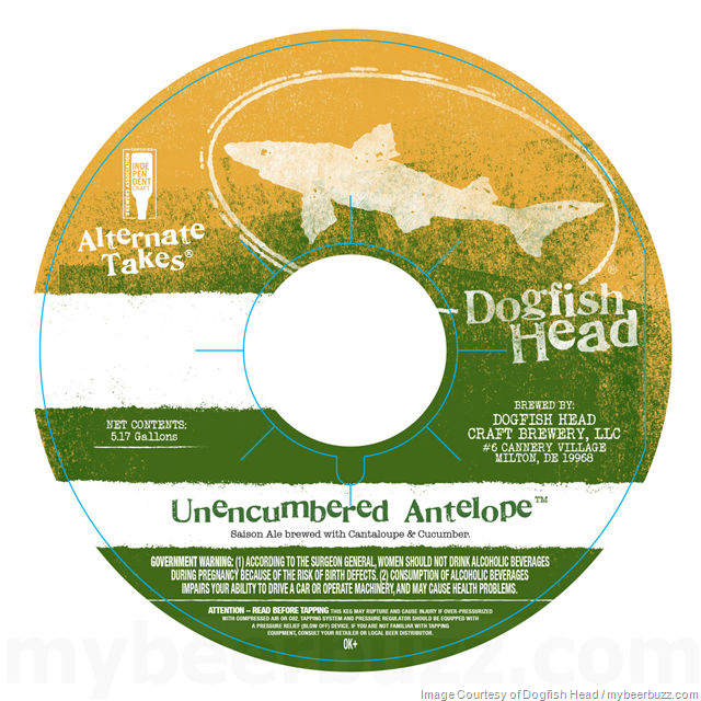 Dogfish Head Alternate Takes Unencumbered Antelope