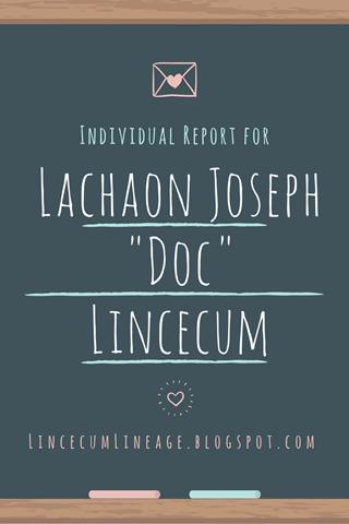 Individual Report - LJLincecum