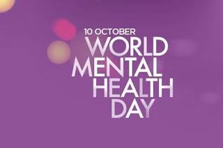 10 ઑક્ટોબર વિશ્વ માનસિક સ્વાથ્ય દિવસ