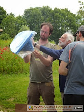 Ecotoiletten workshop op Aardewerk de Stegge, Winterswijk 2014