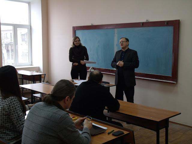 Виктор Жуковский и Иванна Мовчанюк открывают богословскую программу