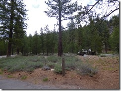 Granite Flat National Forest Campground, Truckee CA