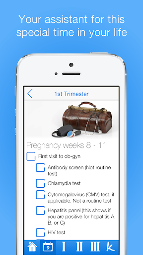 Pregnancy Checklists PRO screenshot for Android