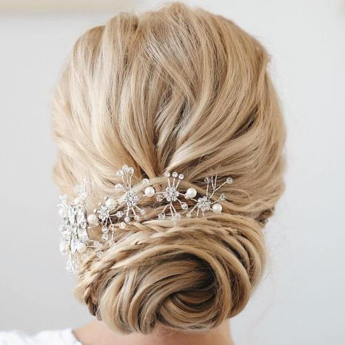 Top Smart Wedding Hair Updos In Current Year For Brides 2017-2018 7