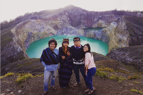 Danau Kelimutu, Pulau Flores