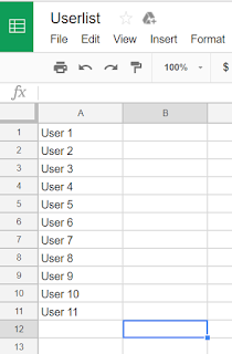can i use an existing google sheets document to fill options in an