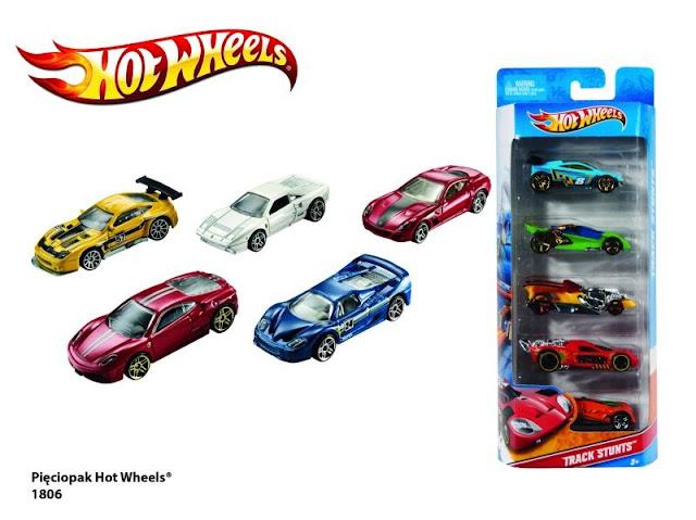 Bộ sưu tập 5 xe Hotwheels 1806