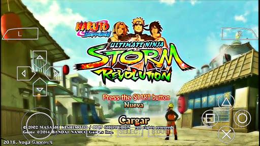 SAIU!! NOVO NARUTO SHIPPUDEN STorm Revolution MOD Naruto Ninja Impact Para (PPSSPP) + DOWNLOAD