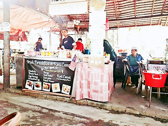 Irish Breakfast & Roti Canai By Chef Ayoh De | Terengganu