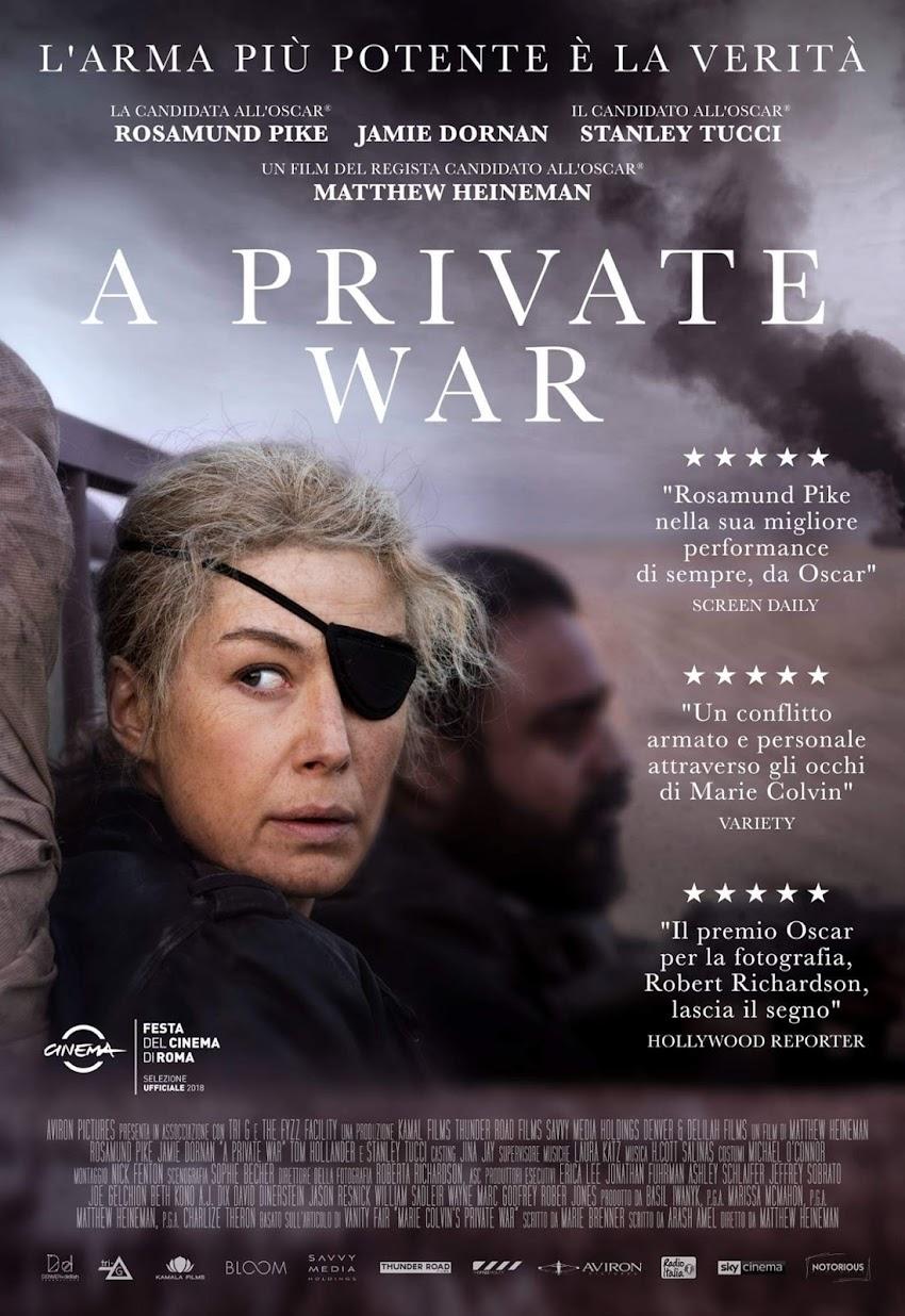 A Private War, dal 22 novembre al cinema