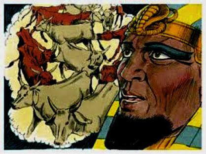 As vacas magras e as vacas gordas do sonho de Faraó