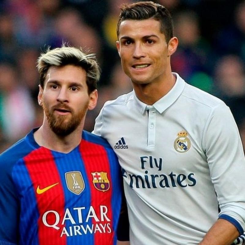 Messi e Cristiano Ronaldo - dois gênios sem Copa do Mundo