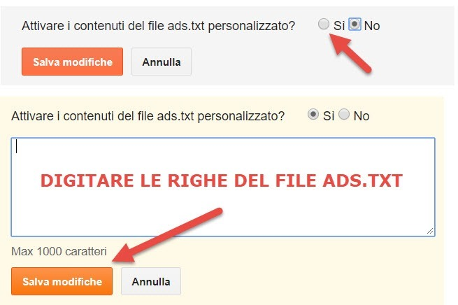 personalizzare-ads-txt-blogger