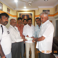 Medical Cheque Distribution