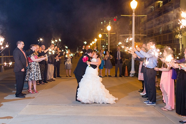 Perfectly Polka Dot Virginia Beach Wedding | Tidewater and Tulle ...