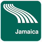 Jamaica Map offline