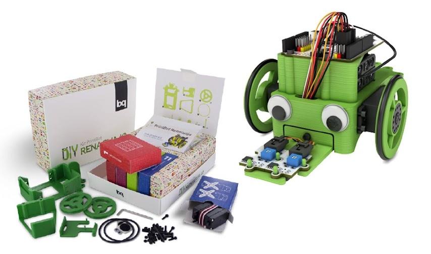 kit de robótica regalo solidario Ayuda en Acción