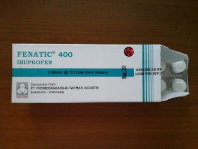Fenatic | Ibuprofen Obat Antiinflamasi Non Steroid