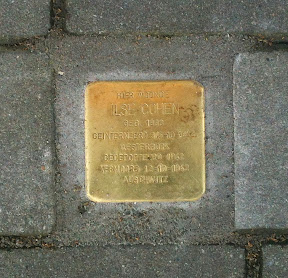 Ilse Cohen - Beltstraat 28a  - Stolperstein Enschede