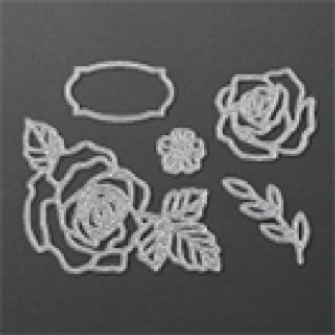 Amethystar crafting stampin up rose garden thinlets day 3 for Gardening 7 days to die