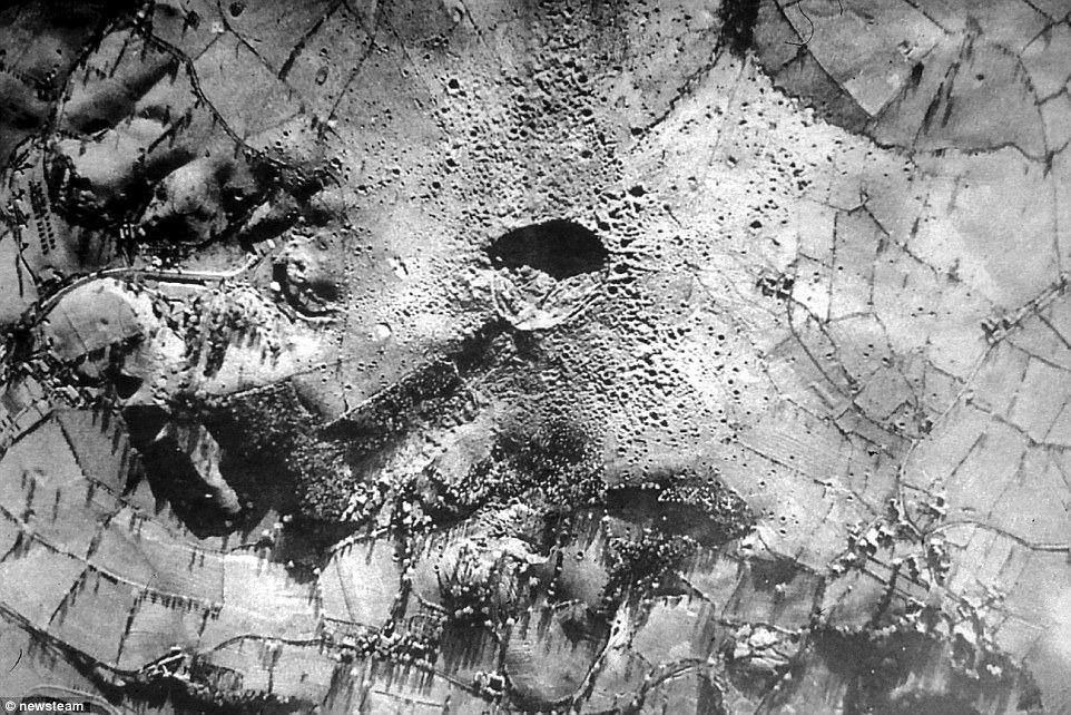 Veja a Cratera de Hanbury, na Inglaterra