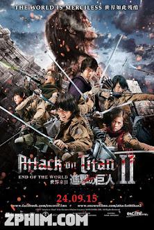 Đại Chiến Titan 2: Tận Thế - Attack on Titan: Part 2 (2015) Poster
