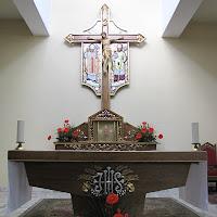 Poświęcenie płaskorzeźby bł. Jana Pawła II  i św. Herberta