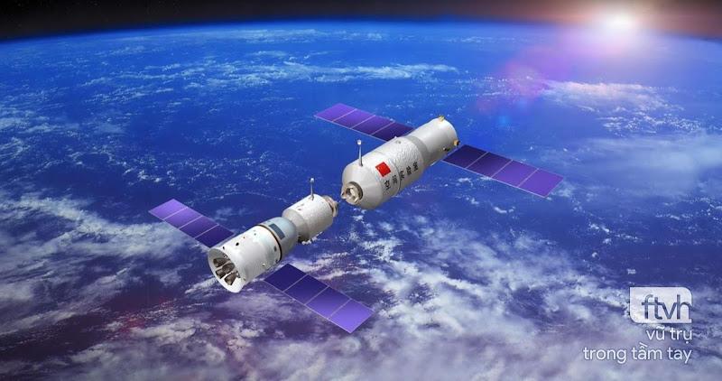 Thông tin về Trạm Không gian Thiên Cung 1 của Trung Quốc sắp rơi xuống Trái Đất
