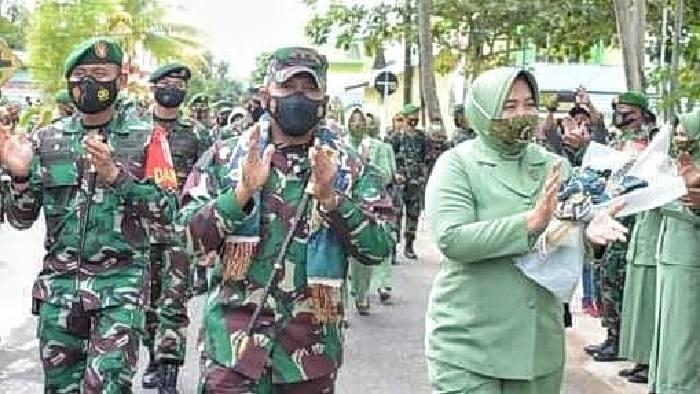 Panglima Komando Daerah Militer (Pangdam) VI/Mulawarman Jenderal TNI Heri Wiranto meminta semua tentara di daerah setiap dengan kesatuan. Dan tetap solid dalam melaksanakan tugas kewilayahan.