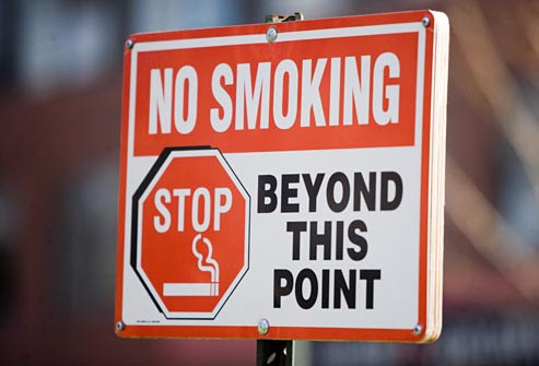 ibu mengandung Persediaan Untuk Ibu Mengandung getty rf photo of no smoking sign
